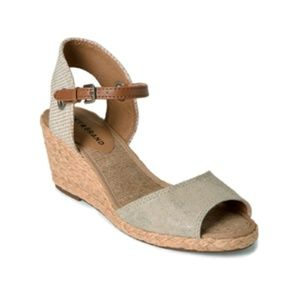 KYNDRA ESPADRILLE WEDGE SANDALS